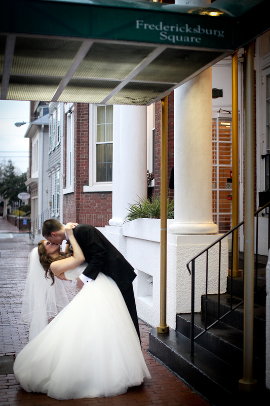 Weddings at Fredericksburg square